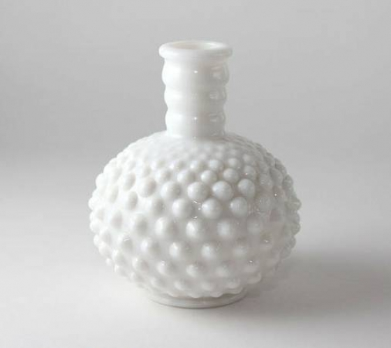 Milk Glass Vase - $10 (venice)
