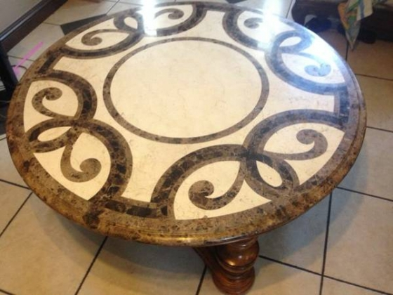 Marble table - $300 (Los angeles)