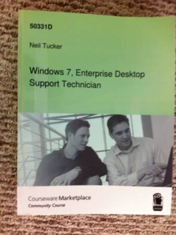 Windows 7 enterprise Desktop Support Technician -- look like new - $10 (Rosemead)
