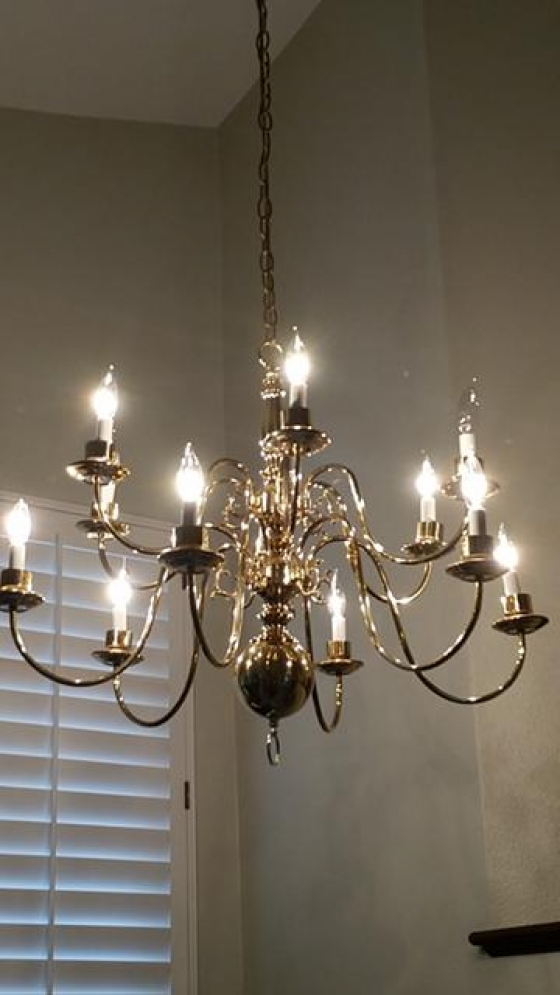 $25, Chandelier (2 chandeliers for $25.00 total!)