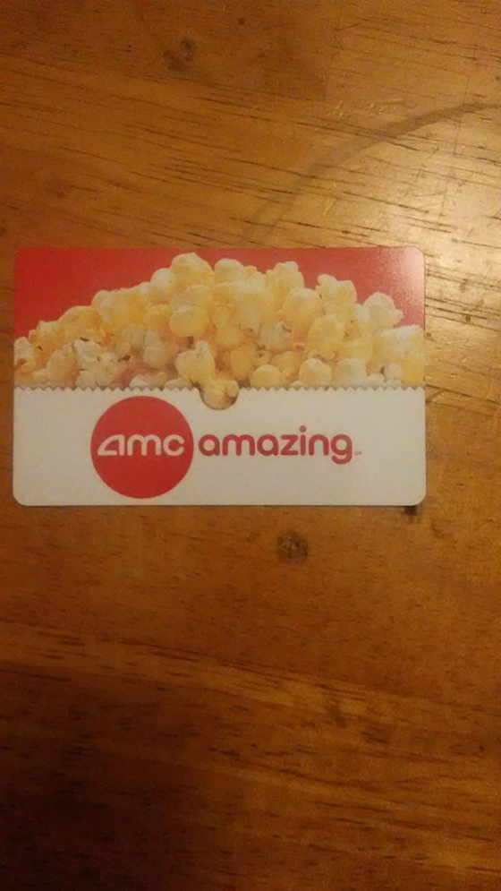 $35, 2 - $25 AMC Theatre Gift Cards for Only $35