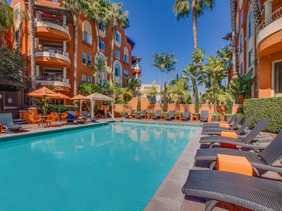 $2,208, 1br, 1 bd/1 bath Our luxury apartments are smoke free and feature Mediterranean style living in a pri...