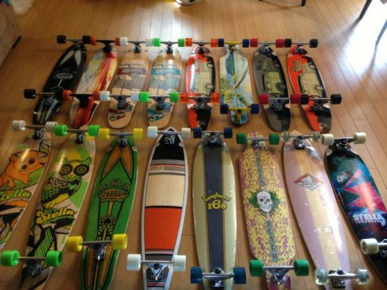 NEW LONGBOARD SKATEBOARDS SPECIAL EDITION (CARVE TRUCKS)