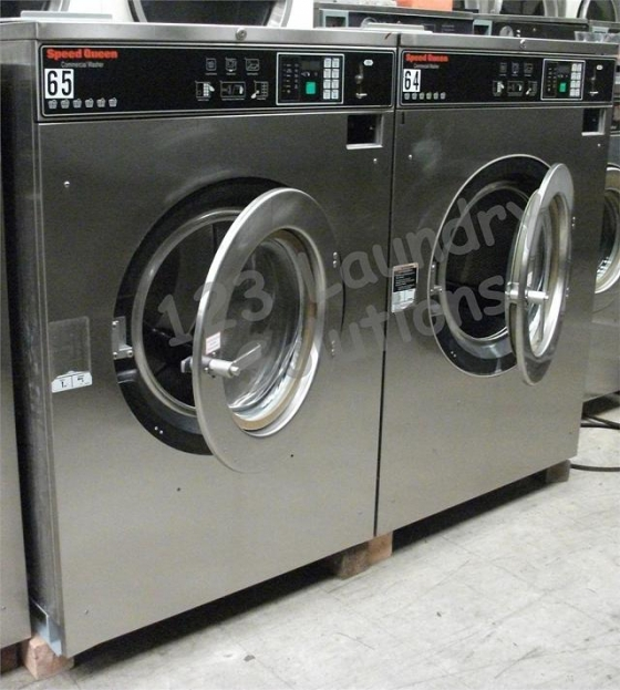 $4,500, Front Load Washer SC60BC2 Speed Queen 208-240V 60Hz 3ph