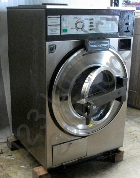 $949, Heavy Duty Continental Front Load Washer 18Lbs 120V Stainless Steel L1018CRA1510 Used
