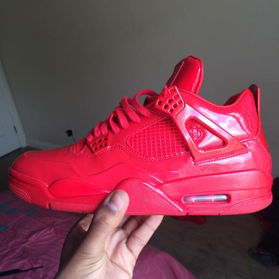 $250, All Red 2015 Jordan 4\\\'s. Size 8.5
