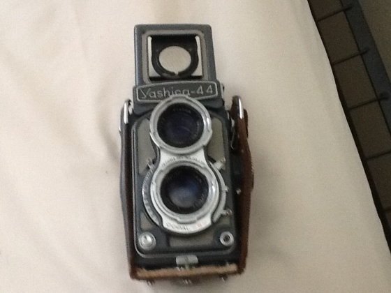Antique yashica camera