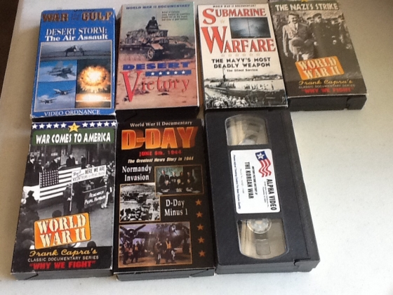 World War II Documentary in VHS