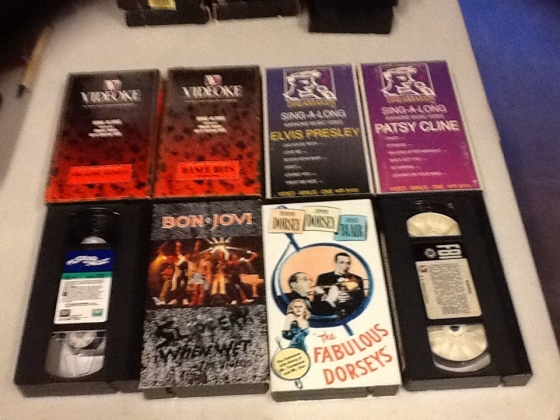 Sing -Along-Long Karaoke Music Video VHS format,