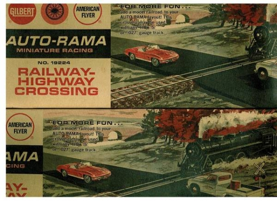 TRAIN/SLOT CAR X-ING: American Flyer