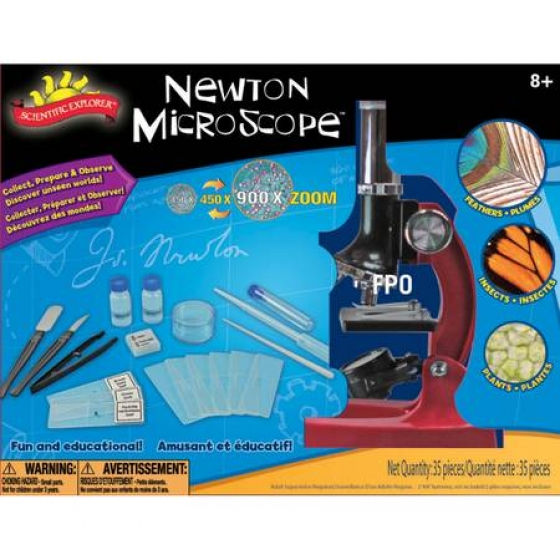 Scientific Explorers Newton Microscope Kit-