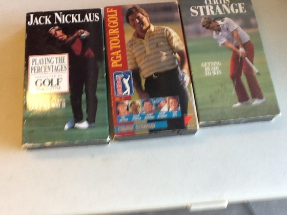 Golf Lesson in VHS format
