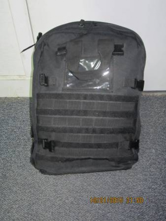 Stomp Medical Bag FA140 by Elite first aid Black