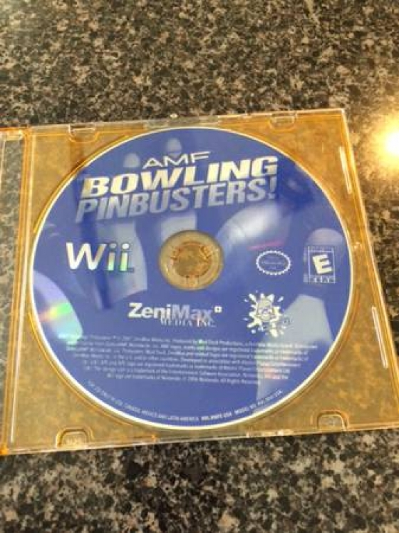 Wii Game: Bowling Pin Busters