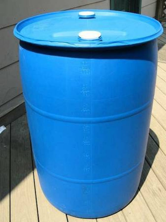 55 gallon *food grade* barrels