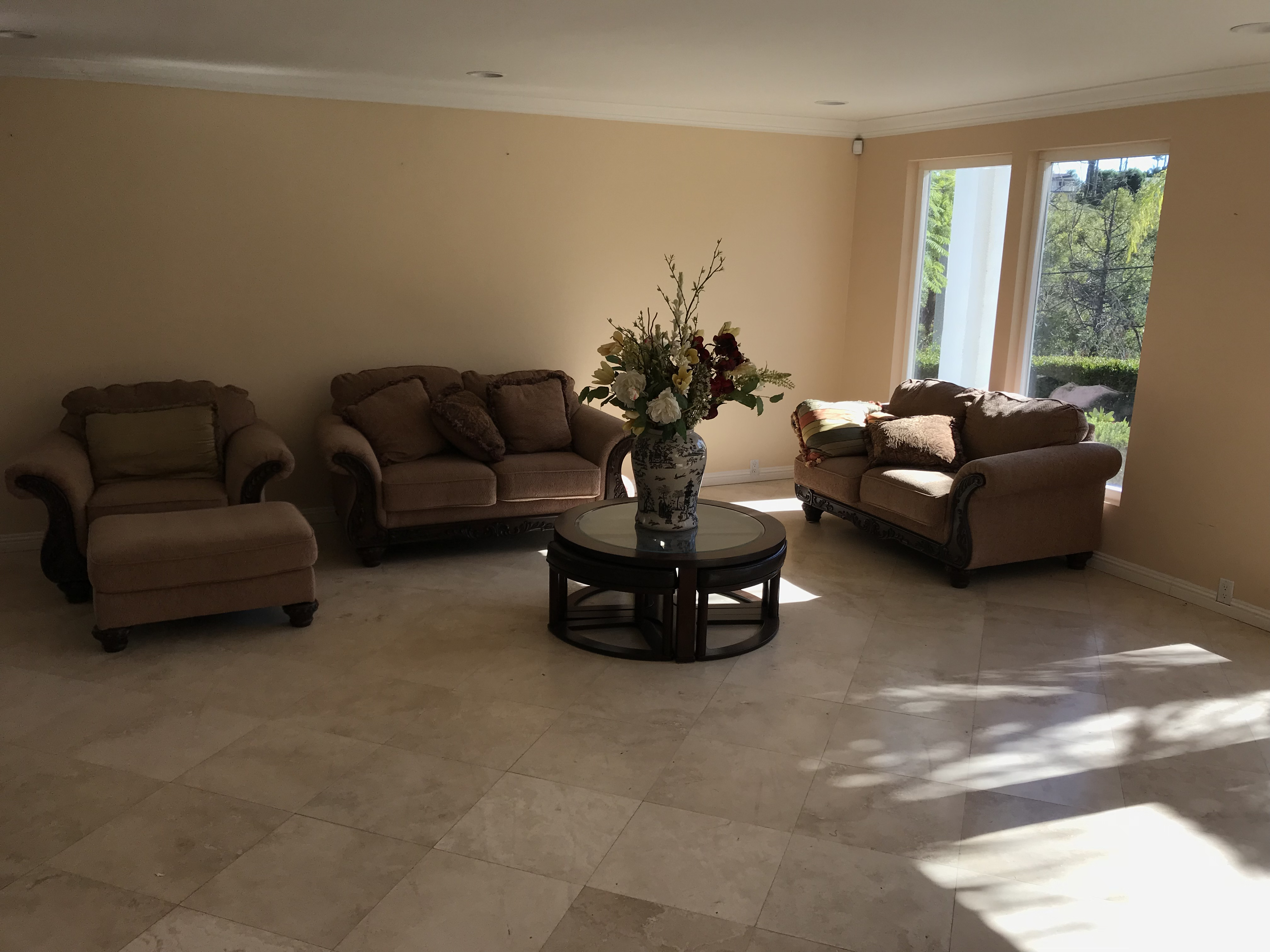 Living room and Dining